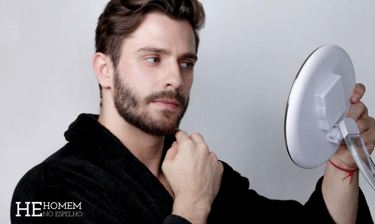 Homem No Espelho - Como cuidar da pele masculina - acne, oleosidade, brilho, espinhas, manchas, pelo encravado