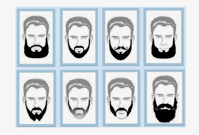 Homem No Espelho Tipos De Barbas Homem No Espelho