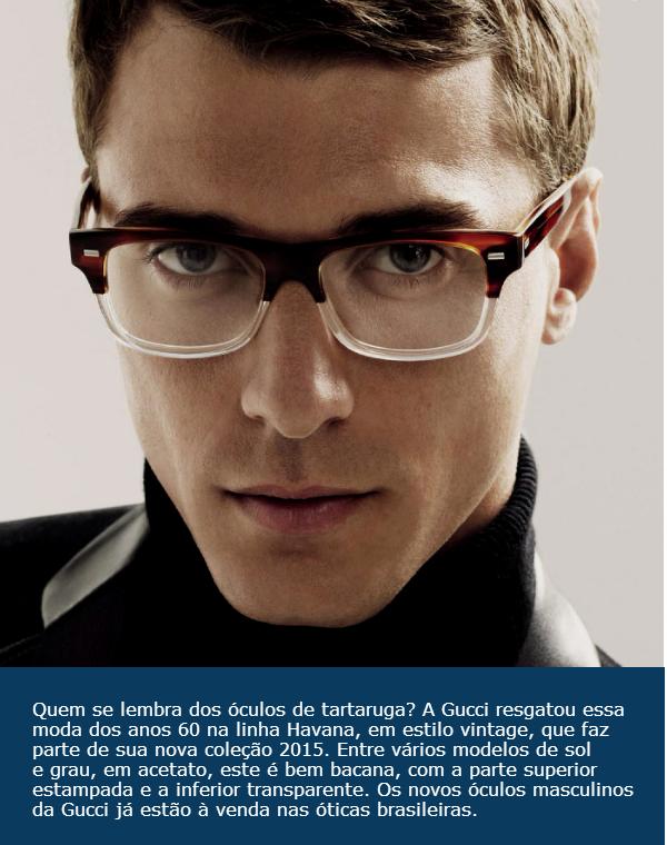 504d780bd1d54 Homem No Espelho - Óculos de sol Gucci.. - Homem no Espelho