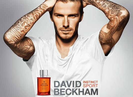 Homem No Espelho - David Beckham Instinct Sport..