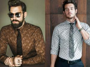 Homem No Espelho- Novos estilos de roupa social
