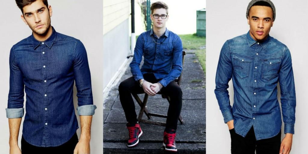 Homem No Espelho - Camisa jeans-8.