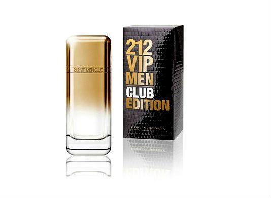 Homem No Espelho - Perfume Carolina-Herrera VIP212 Club Edition.