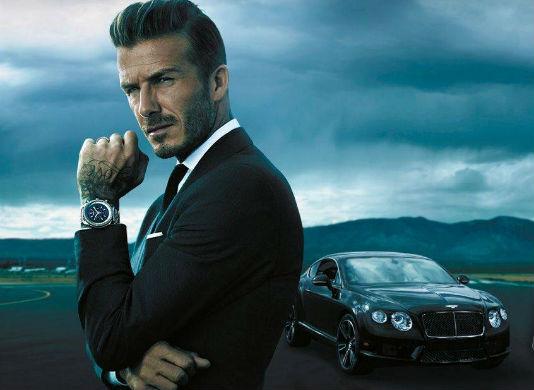 """Homens tendem a ser mais imprudentes com dinheiro quando são """"fisgados"""" pelas propagandas com caras como o Beckham"""