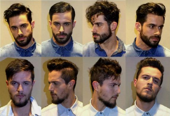 Homem No Espelho - Cortes e penteados de cabelos masculinos