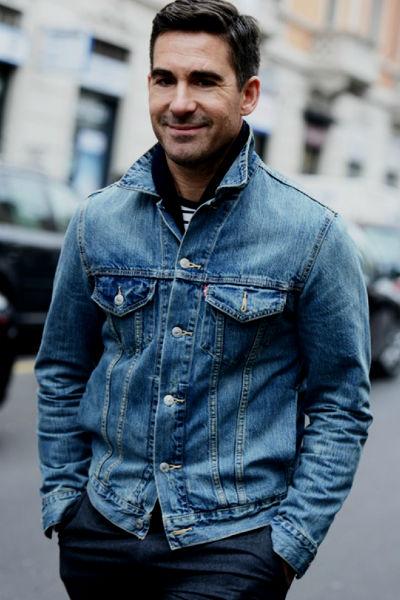 Homem No Espelho - Moda masculina - Jaqueta jeans