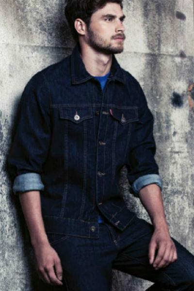 Homem No Espelho - jaqueta jeans Damyller