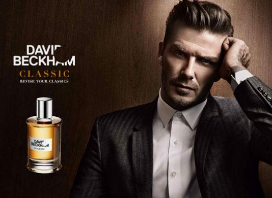 Homem No Espelho - Perfume David Beckham Classic