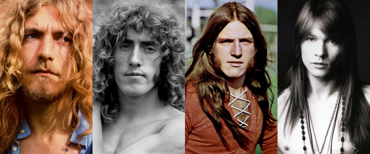 Homem No Espelho - cabelos estilo rock heavy metal