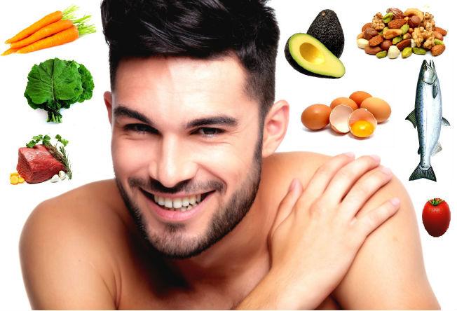 Homem No Espelho - Alimentos que combatem queda de cabelo.