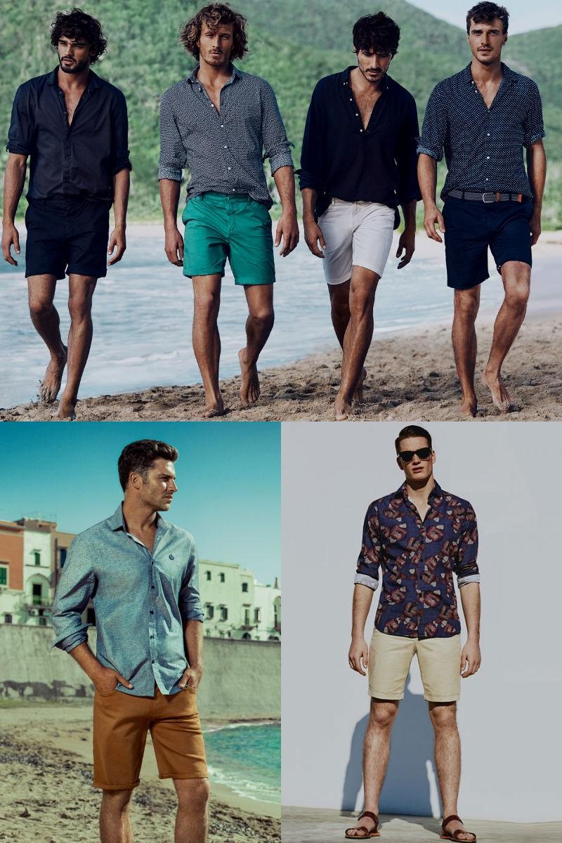 3298bb82d Homem No Espelho - Bermuda com camisa - Homem no Espelho