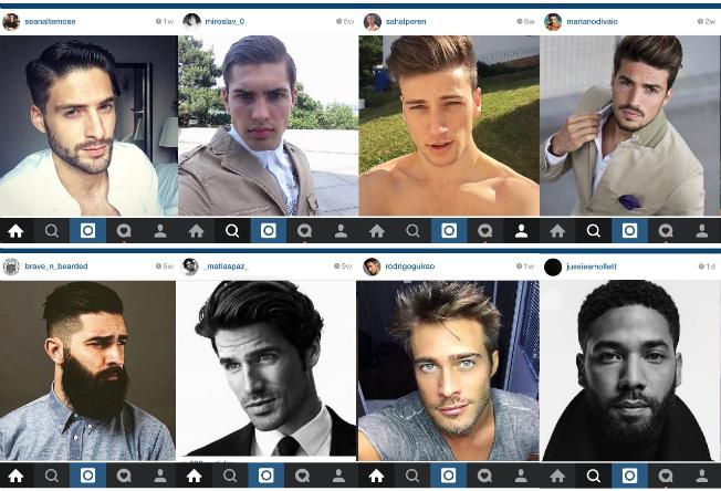 Homem No Espelho - Cabelos do Instagram