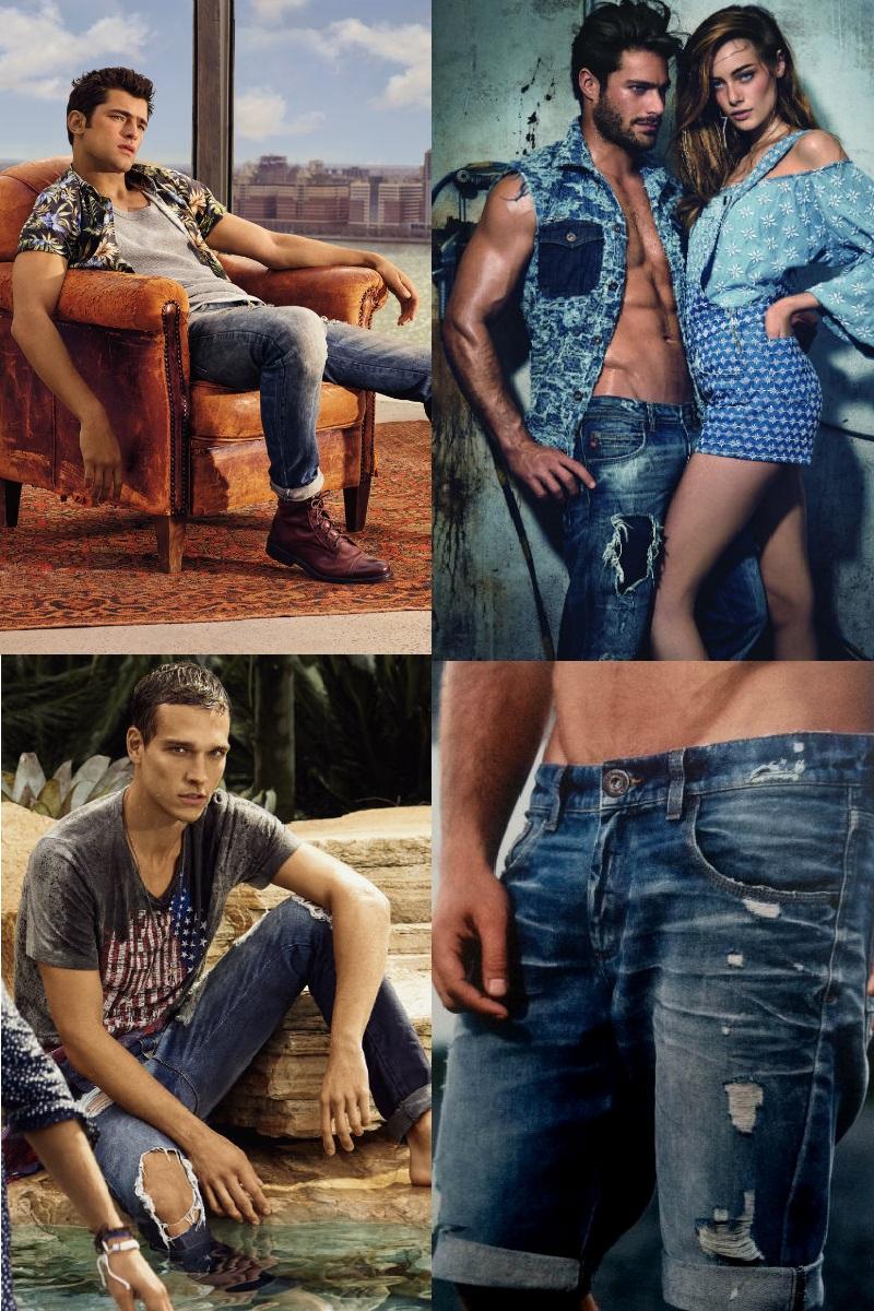 Homem No Espelho - Jeans rasgado