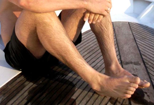 Homem No Espelho - Cuidados com os pés