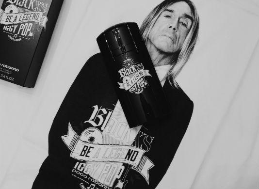 Homem No Espelho - Paco-Rabanne-Black-XS-Be-a-legend-Iggy-Pop-Limited-Edition