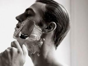 Homem No Espelho - pesquisa Gillette cuidados pessoais