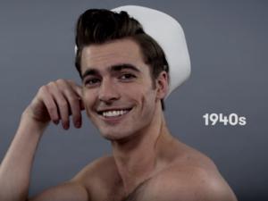 Homem No Espelho - 100 anos de cabelos masculinos