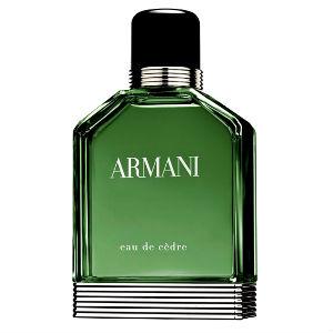 Homem No Espelho - Perfume Armani Eau de Cèdre.