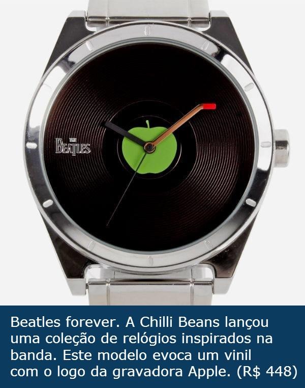 b31feebbb41 Homem No Espelho - Relógio Chilli Beans Beatles. - Homem no Espelho