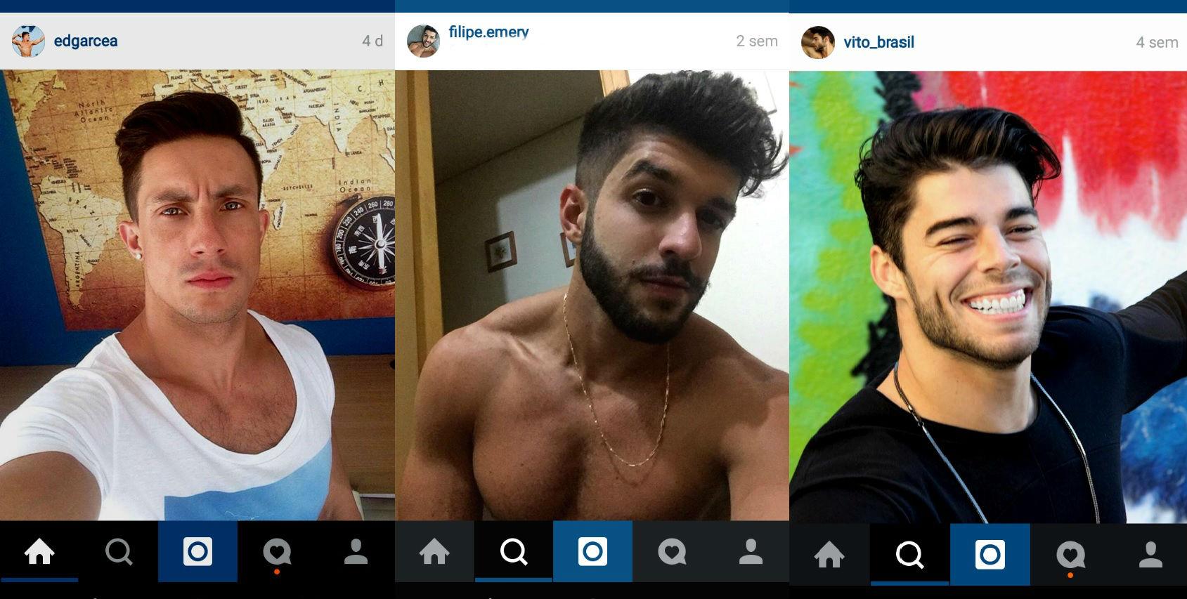 Homem No Espelho - cabelos do Instagram 2.