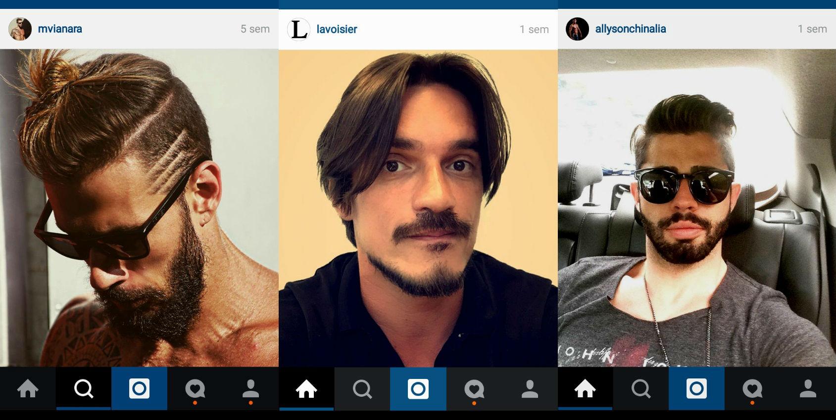 Homem No Espelho - cabelos do Instagram 3.