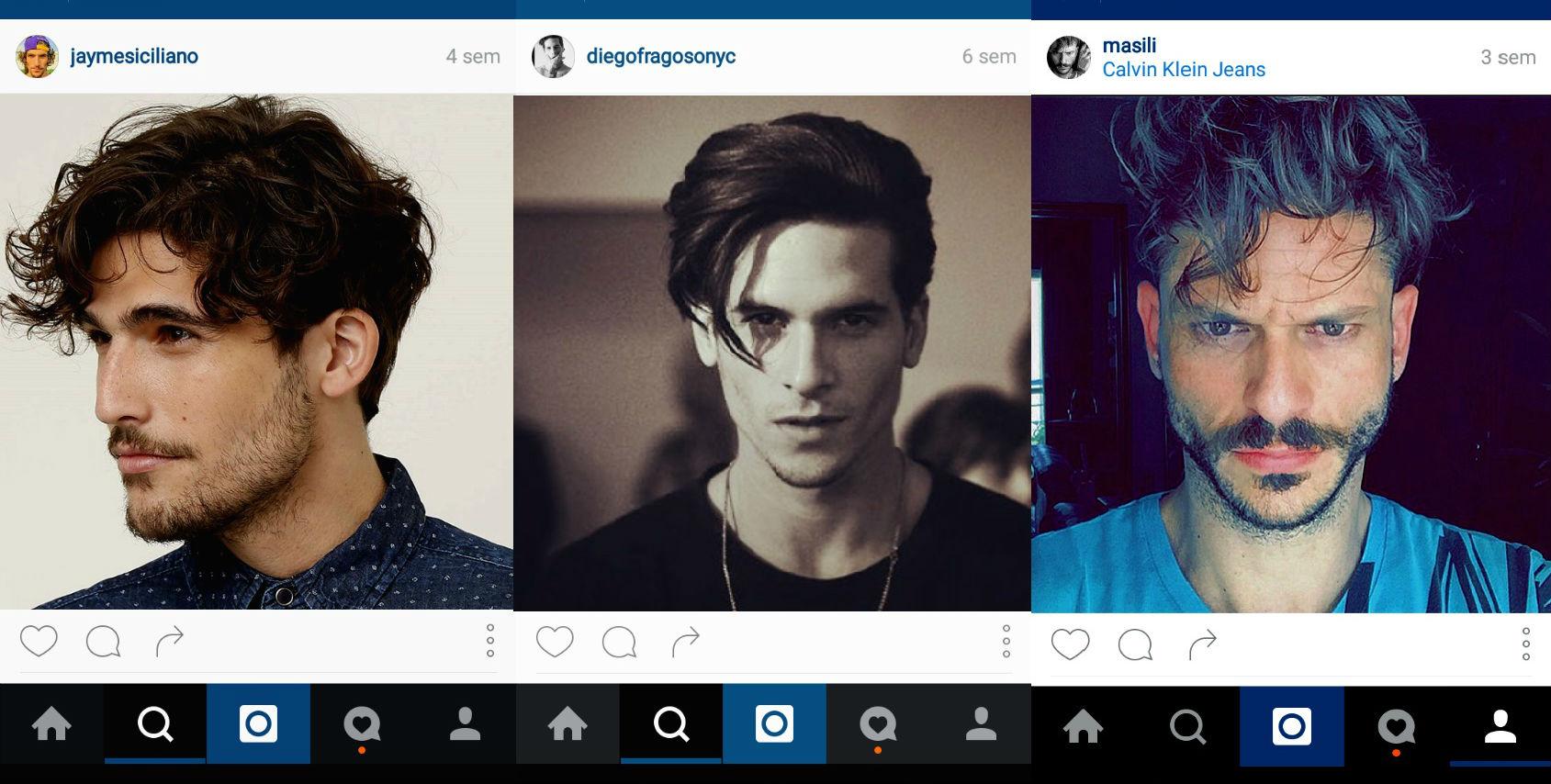 Homem No Espelho - cabelos do Instagram 4.