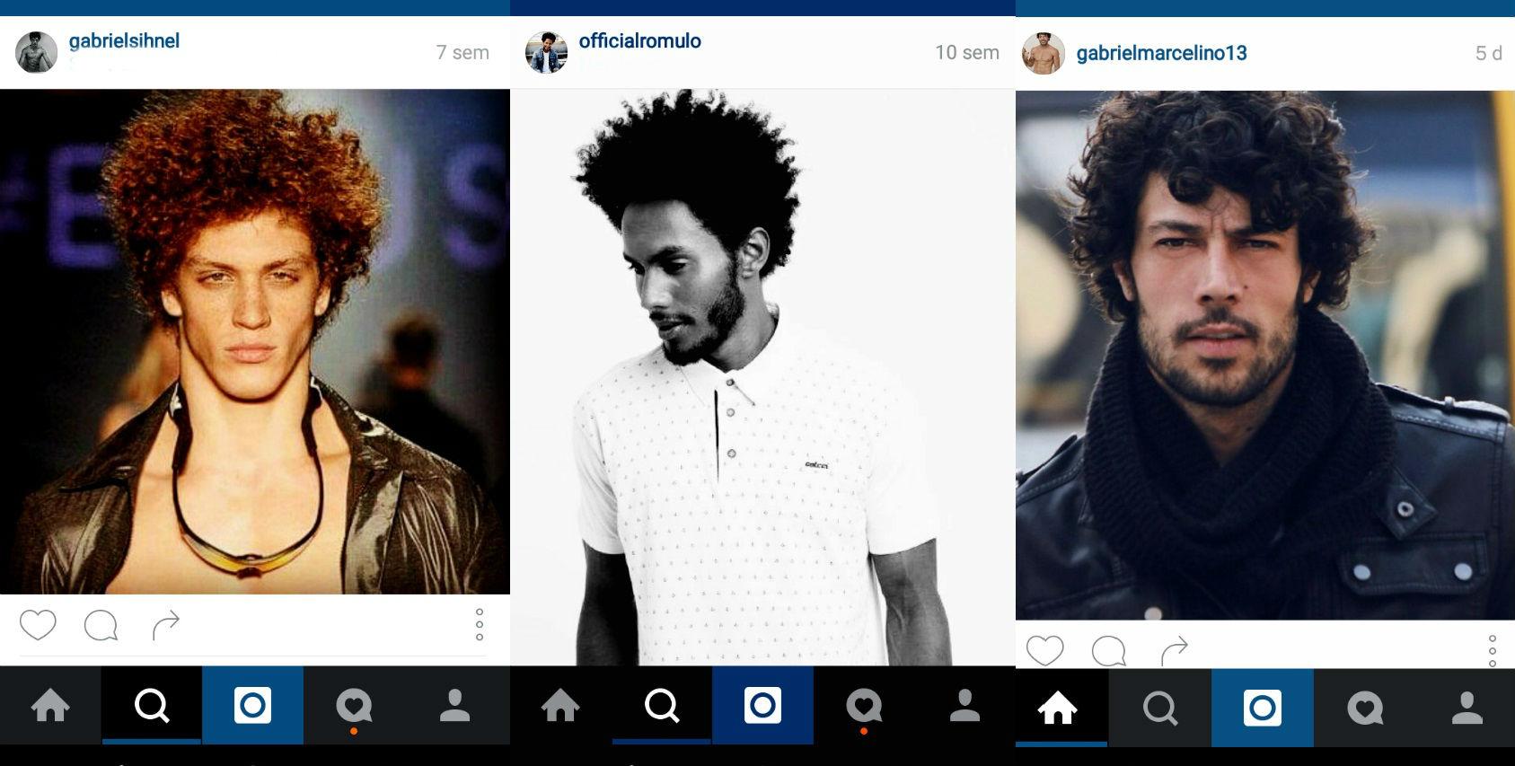 Homem No Espelho - cabelos do Instagram 5.