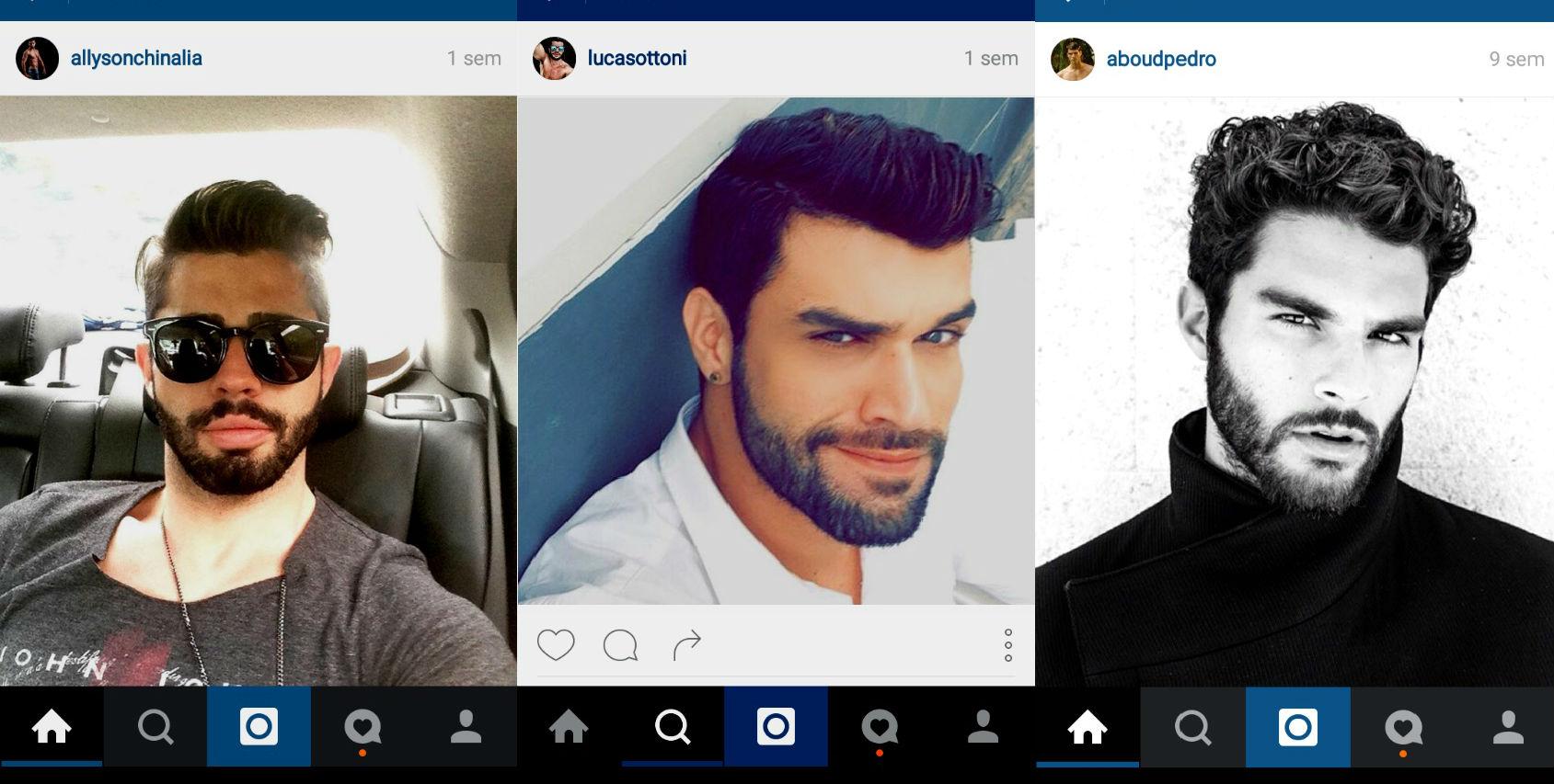 Homem No Espelho - cabelos do Instagram 6.