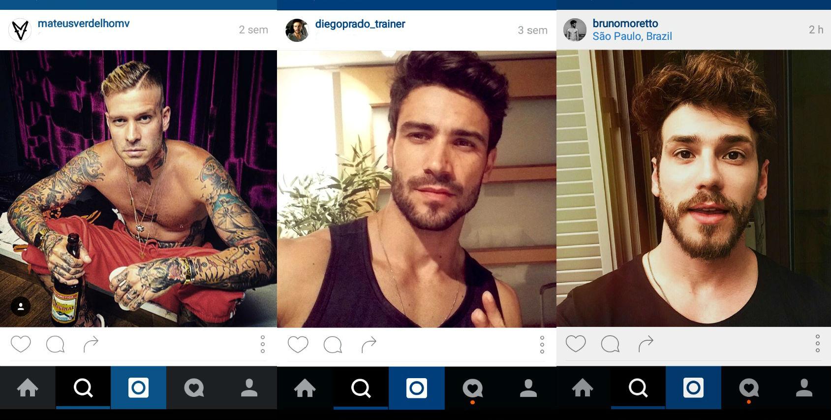 Homem No Espelho - cabelos do Instagram 7.