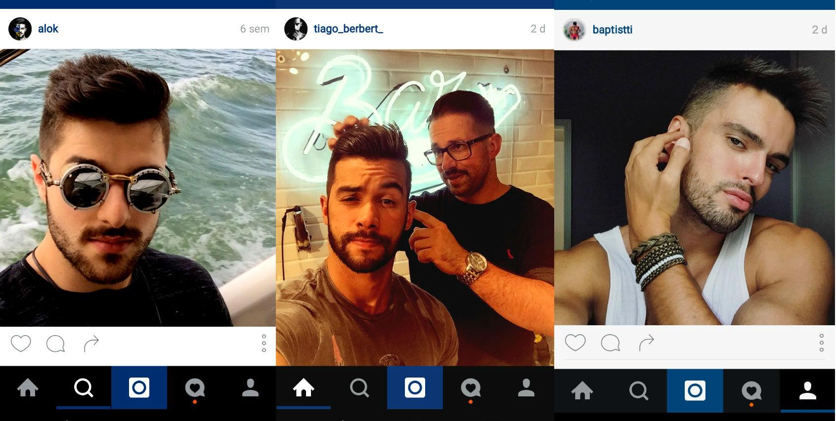 Homem No Espelho - cabelos do Instagram 9.