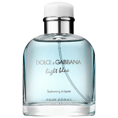 fbf72079c Homem No Espelho - perfume masculino Dolce Gabbana Light Bluue Swimming  Lipari