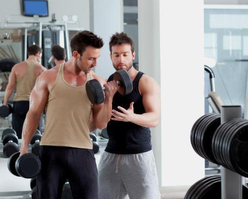Homem No Espelho - Treino academia músculos 4.