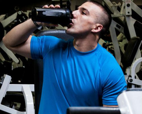 Homem No Espelho - Treino academia músculos 7.