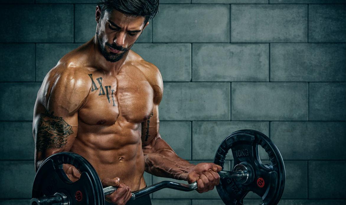 Homem No Espelho - Academia - musculação- hipertrofia - treino