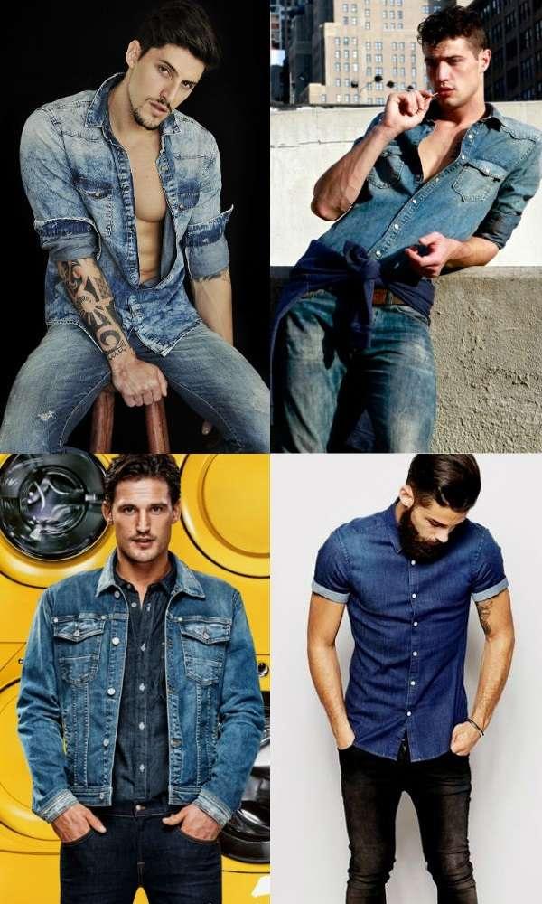 Homem No Espelho - Estilo jeans com jeans - all jeans - como usar jeans