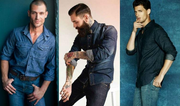 Homem No Espelho - Estilo jeans com jeans - all jeans