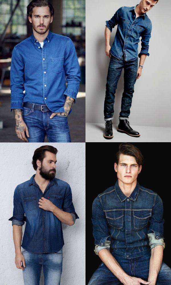Homem No Espelho - Estilo jeans com jeans2