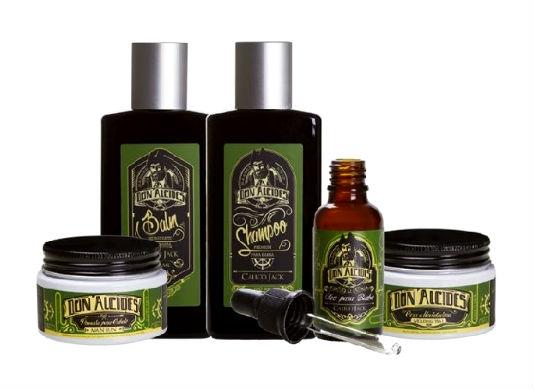 Homem No Espelho - Produtos para barba e cabelo Don Alcides Barber Shop