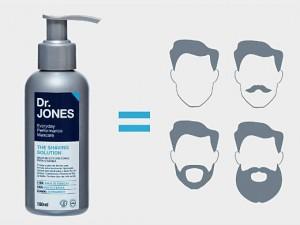 Homem No Espelho - Balm de barba Dr Jones The Shaving Solution