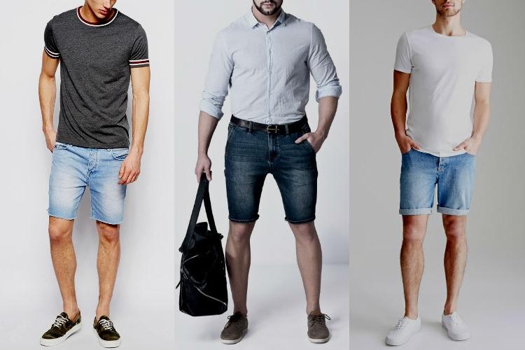 Homem No Espelho - Bermuda no trabalho - jeans