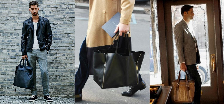 Homem No Espelho - Bolsas masculinas - tote(1)
