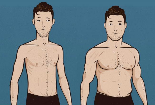 Homem No Espelho - Como ganhar peso - massa magra