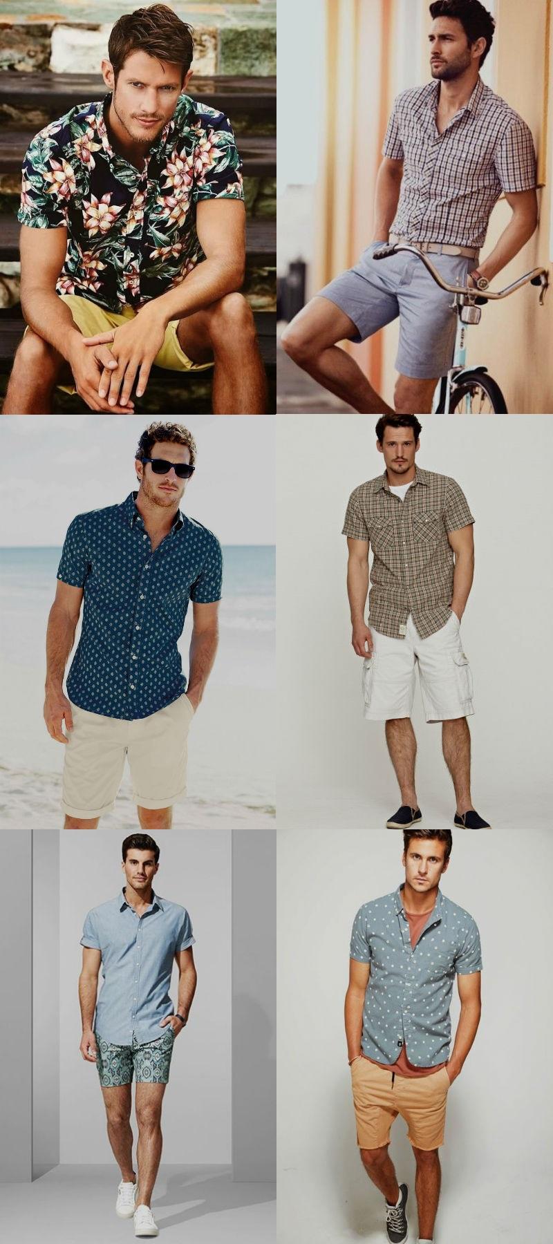 Homem No Espelho - Moda casual- bermudas camisa manga longa4