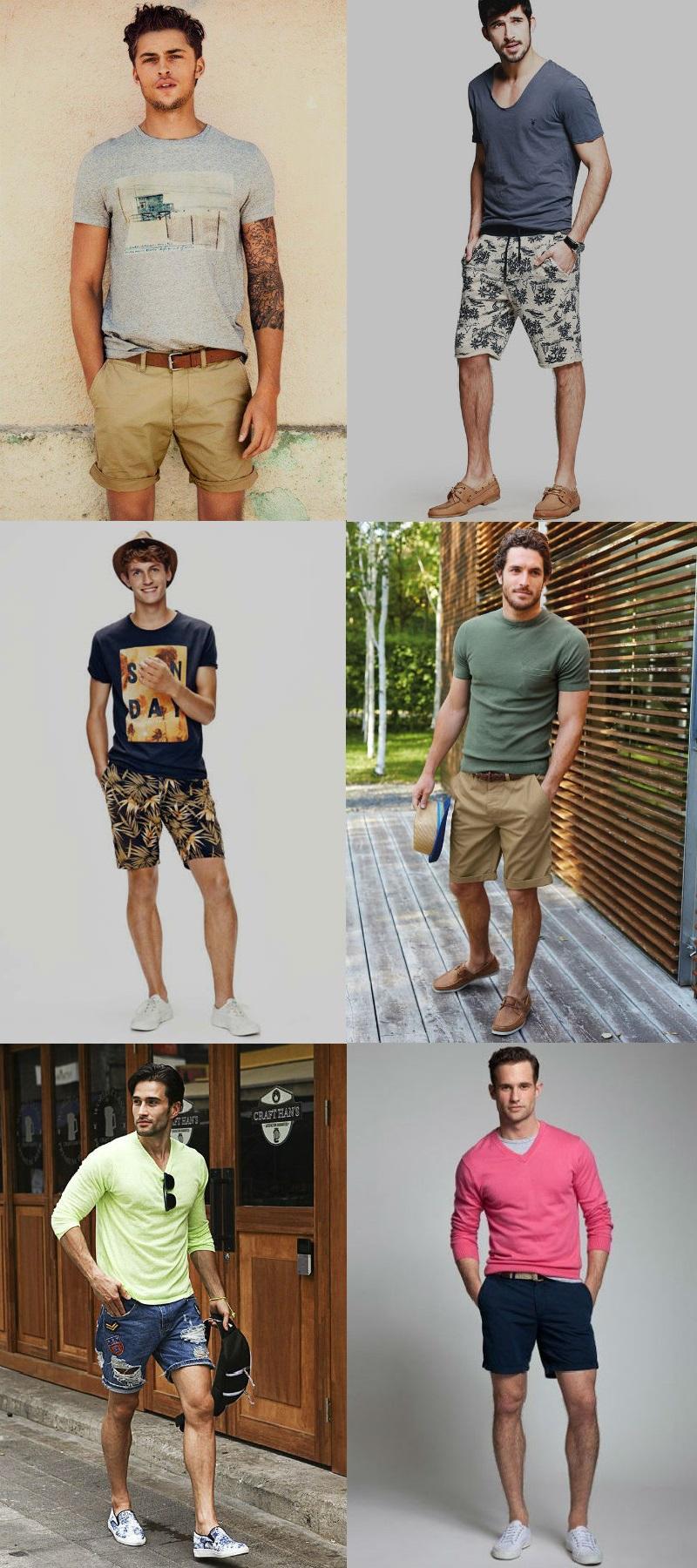 Homem No Espelho - Moda casual- bermudas camiseta