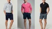 Homem No Espelho - Moda casual-bermudas-camisetas