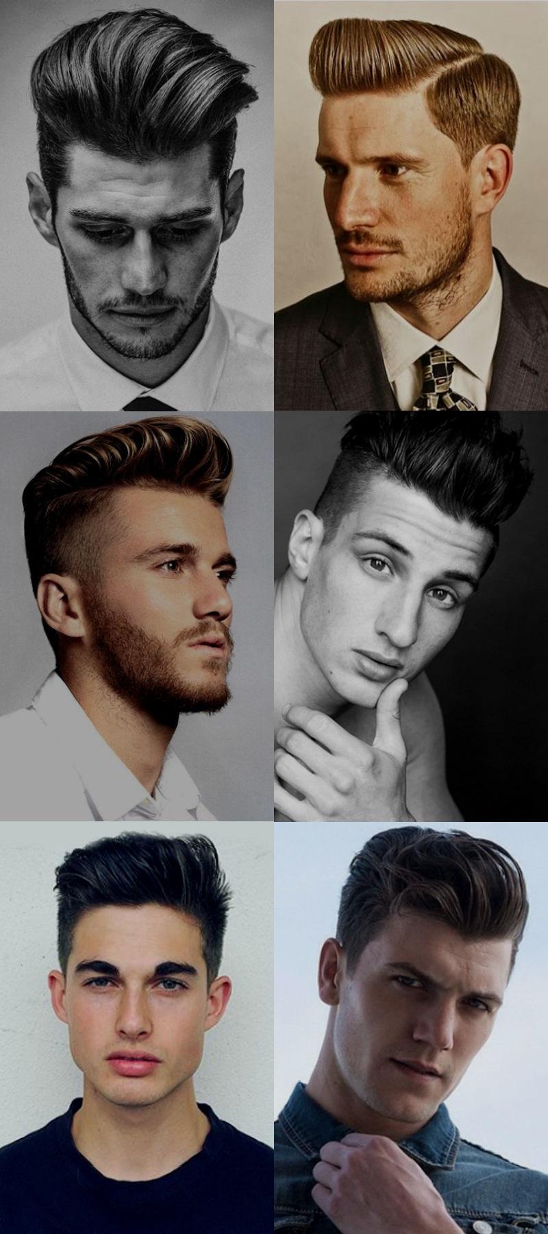 Homem No Espelho - Cortes de cabelo masculinos 2016 - Topetes