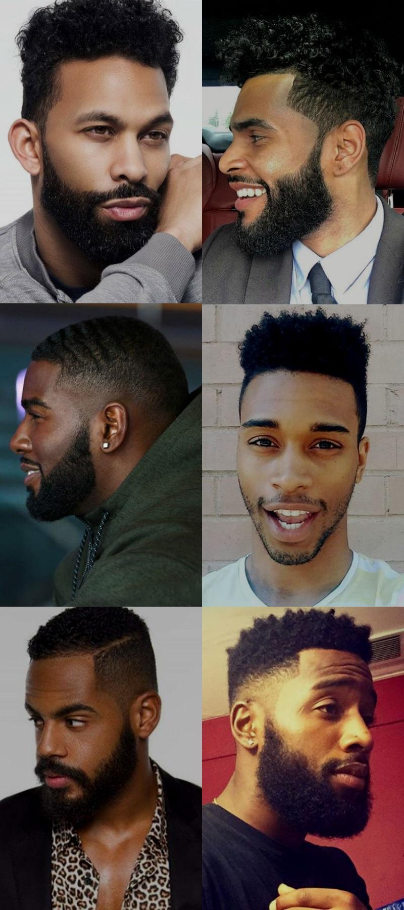 Homem No Espelho - Cortes de cabelo masculinos - afro 2016