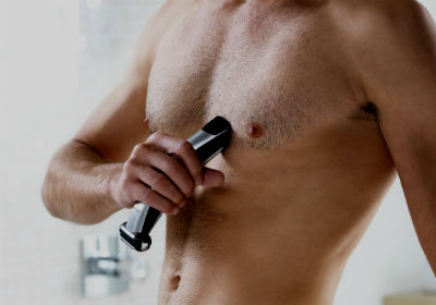 Homem No Espelho - Depilacao masculina - Peito