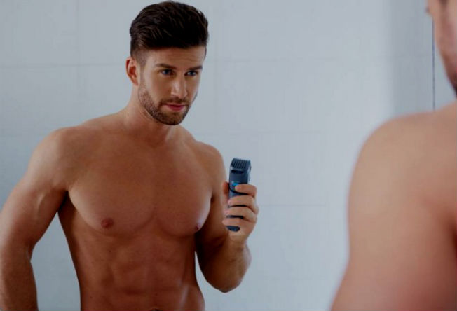 Homem No Espelho - Depilacao masculina