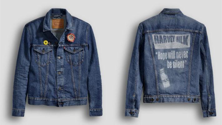 Homem No Espelho - Levis jaquetas